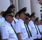 на праздновании юбилея военной ветеринарии