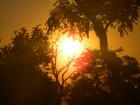 Оранжевый восход.