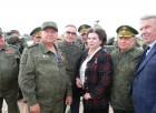 ветераны Тыла ВС с первым космонавтом женщиной Валентиной ВладимировнойТерешковой