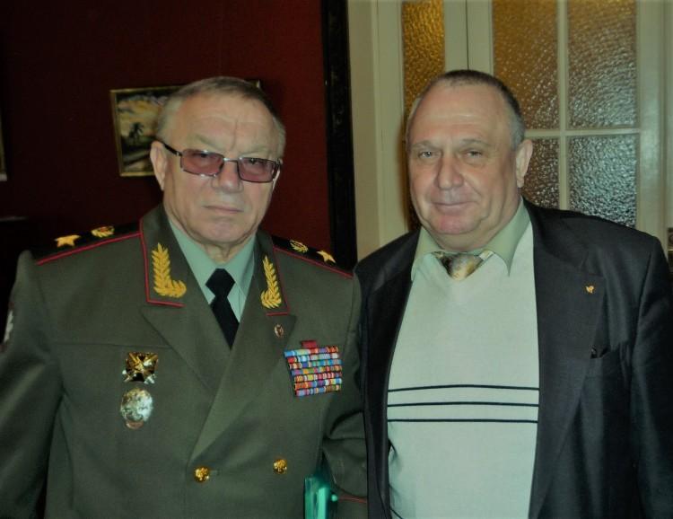 с генералом армии А. С. Куликовым