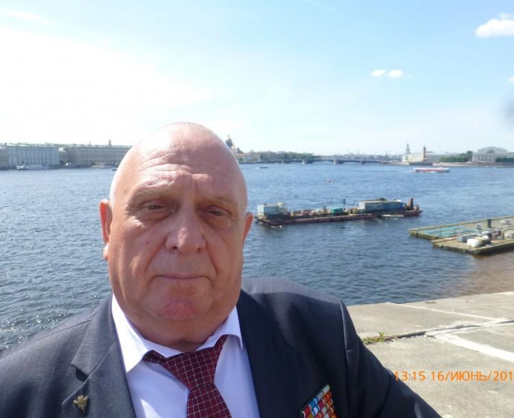 генерал-майор В.П.Ветров в Санкт-Петербурге