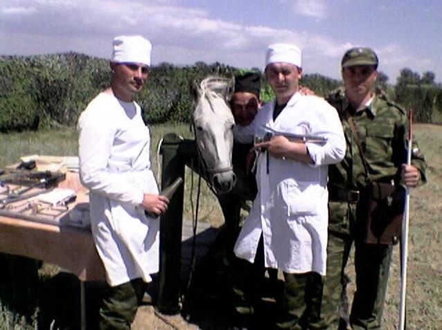 Военные ветеринарные врачи общей практики