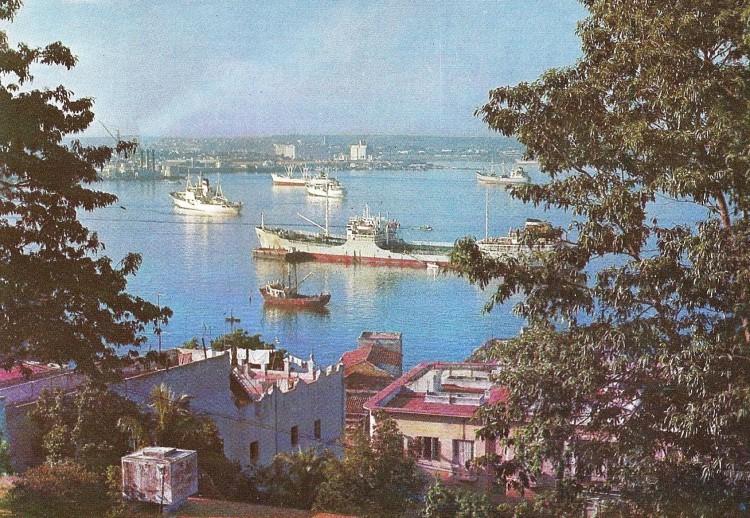 знаменитая Гаванская бухта.