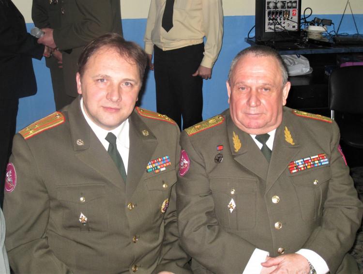 генерал-майор ветеринарной службы Виталий Ветров. полковник медицинской службы Юрий Боев 17 02 2009