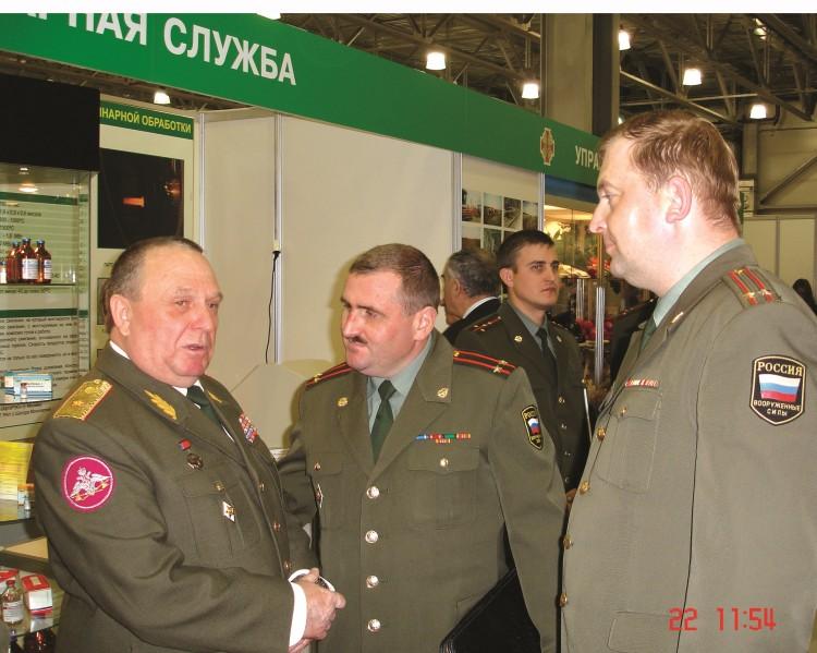 встреча генерала В.П.Ветрова с воспитанниками