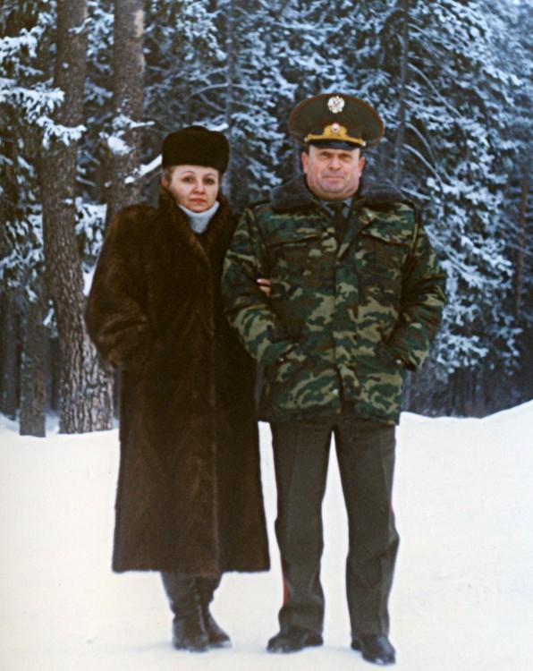 Г.В.Ветрова В.П.Ветров в Безменково