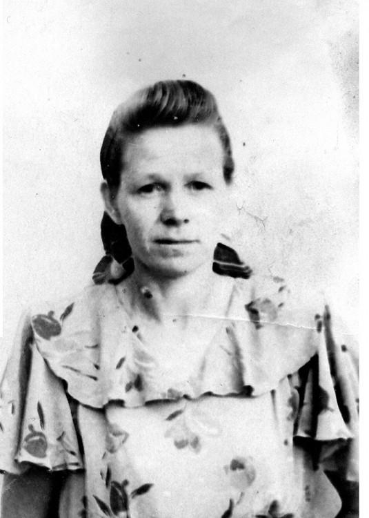 Валентина Щербакова, 1955г