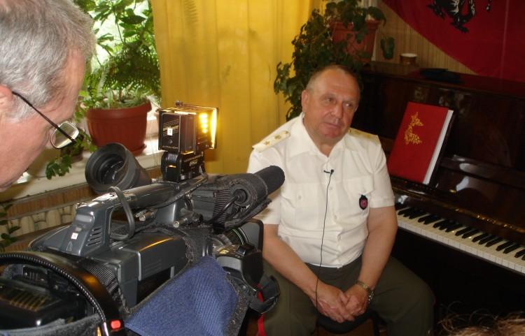 Виталий Ветров в работе