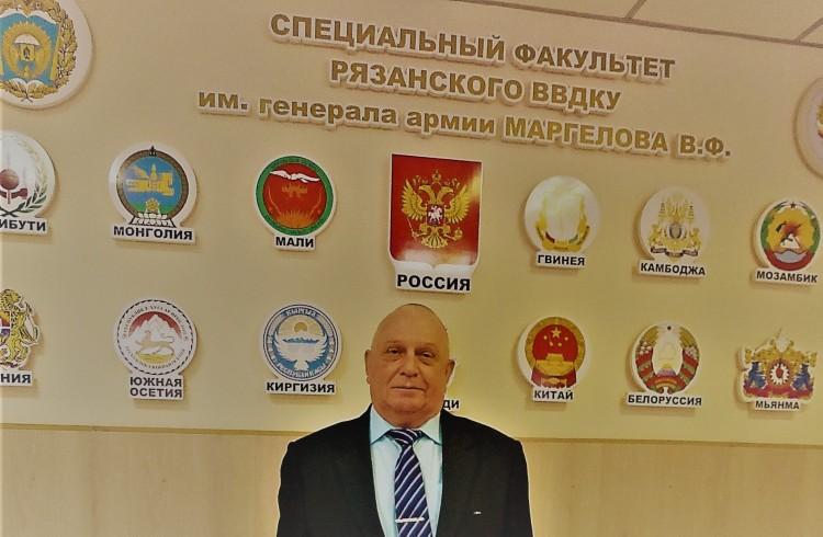 на специальном факультете Рязанского ВВКДУ