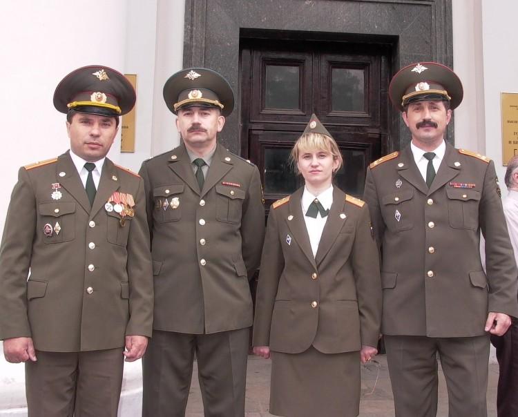 Офицеры Военной ветеринарии, достигшие служебных высот