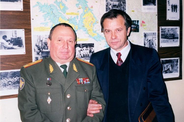 Ведущие специалисты в области военной эпизоотологии; Н.Т. Понтюшенко, генерал-маойр В.П. Ветров.