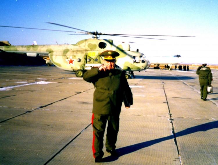 аэродром Моздок, генерал-майор В.П.Ветров