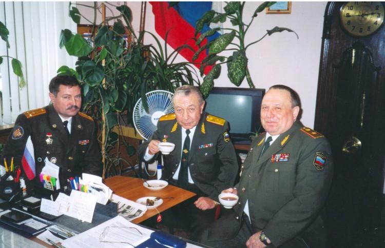 встреча в управлении ВСС ВС РФ