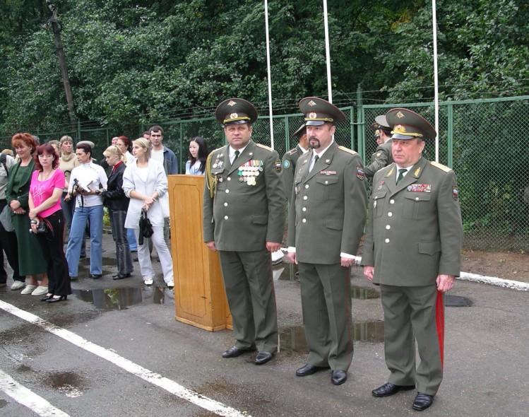 генерал В.П.Ветров,И.С. Колесниченко, полковник Н.М.Печеркин