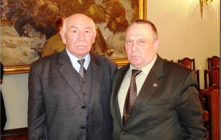 чернобыльцы, генерал-полковник В.А.Литвинов, генерал-майор ветеринарной службы В.П.Ветров