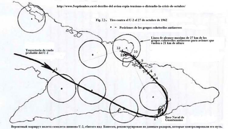 К теме: Сбитие U-2 над Кубой, 27.10.1962. Комментарии кубинских и болгарских авторов.