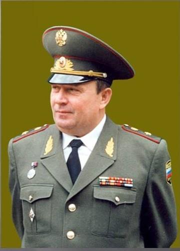 генерал-майор ветеринарной службы Виталий Ветров