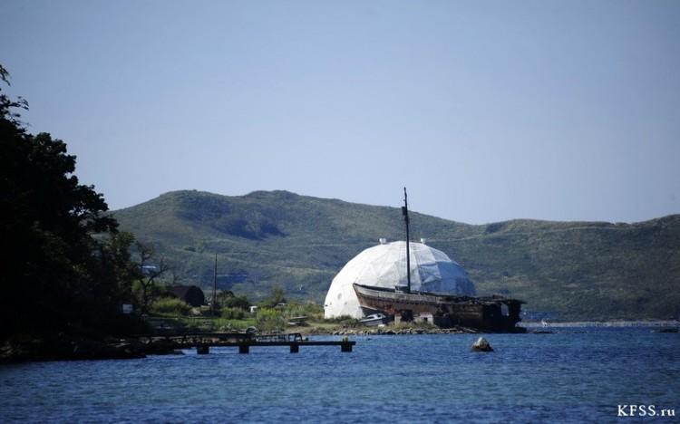 Дельфинарий ТОФ в бухте Витязь