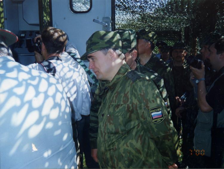 заместитель министра обороны генерал армии В.И. Исаков, у военных ветеринаров