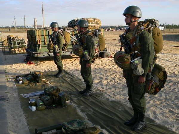 экипировка военнослужащих