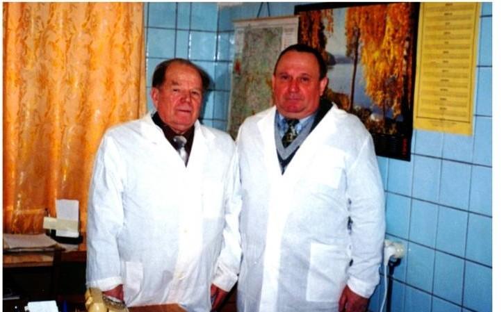 Чернобыльцы, генерал-майор ветеринарной службы В.П.Ветров
