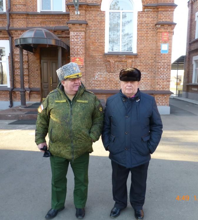 генералы П.П. Горупай, В.П.Ветров