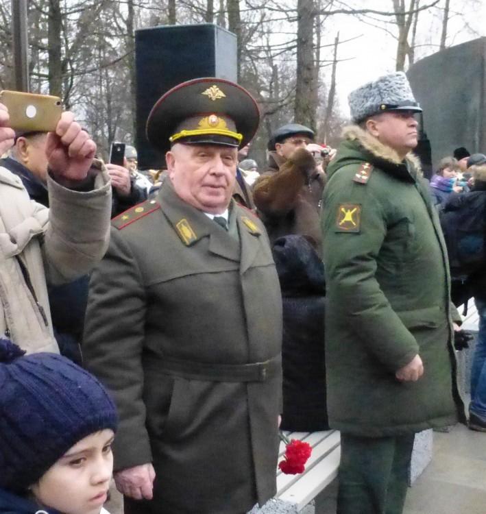 торжественное открытие памятника героям-Чернобыльцам