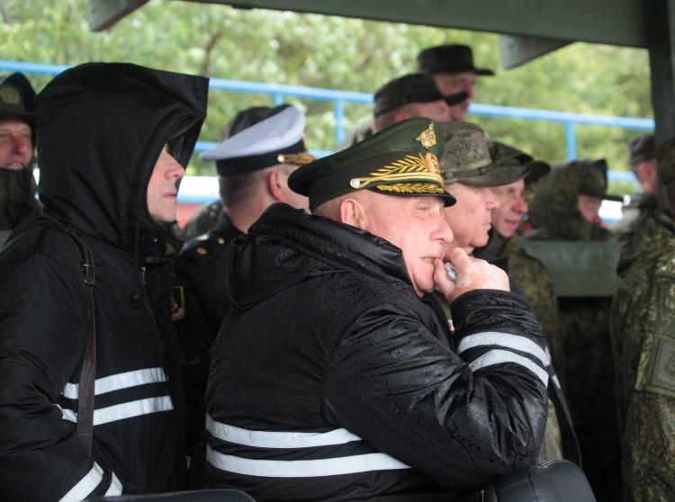 генерал-майор ветеринарной службы В.П. Ветров на Северном флоте