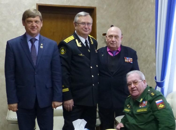 ветераны Тыла ВС в Уссурийском СВУ