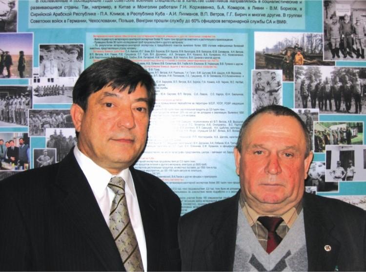 директор Казанского ВНИВИ.А.В.Иванов и генерал В.П.Ветров