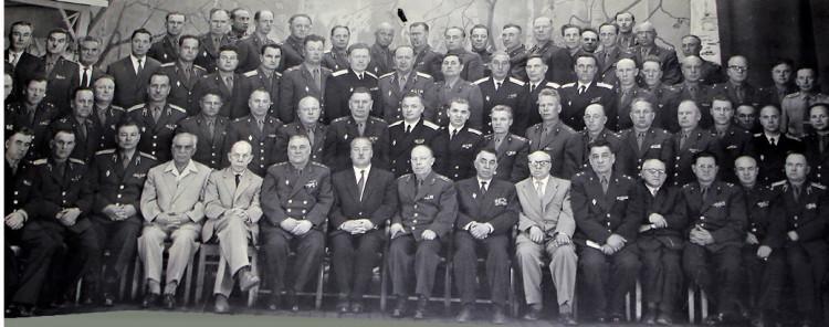 сбор руководящего состава Вооруженных сил Советской армии 1965 голв