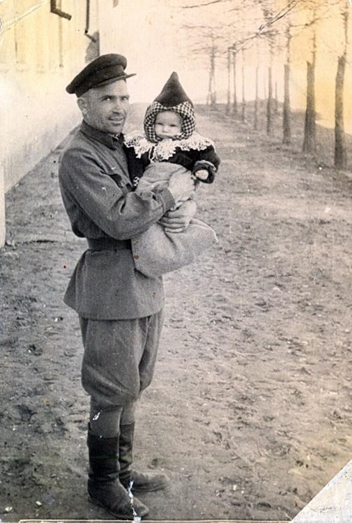 отец Ветров П.Т. с братом Александром