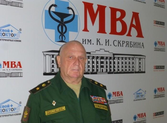 генерал-майор Виталий Петрович Ветров