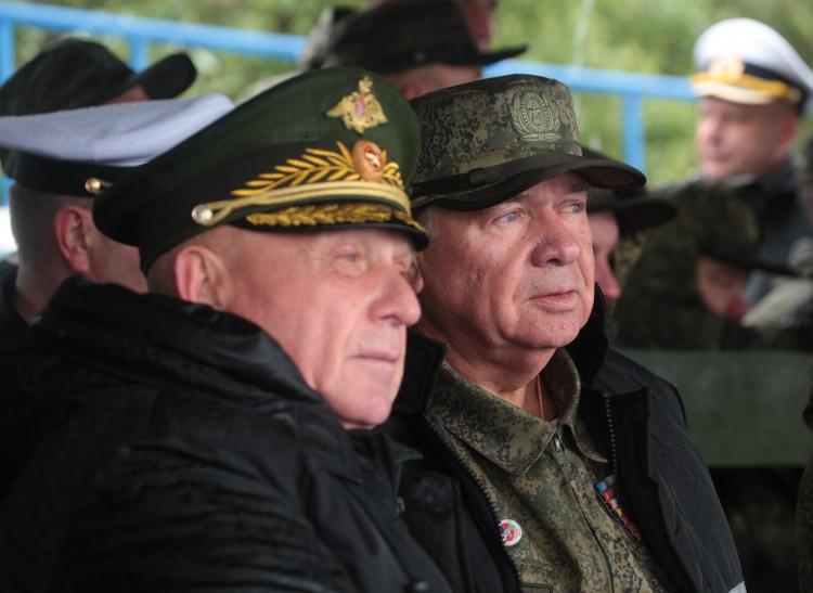 генерал В.П. Ветров и адмирал Н.Ф.Васильев