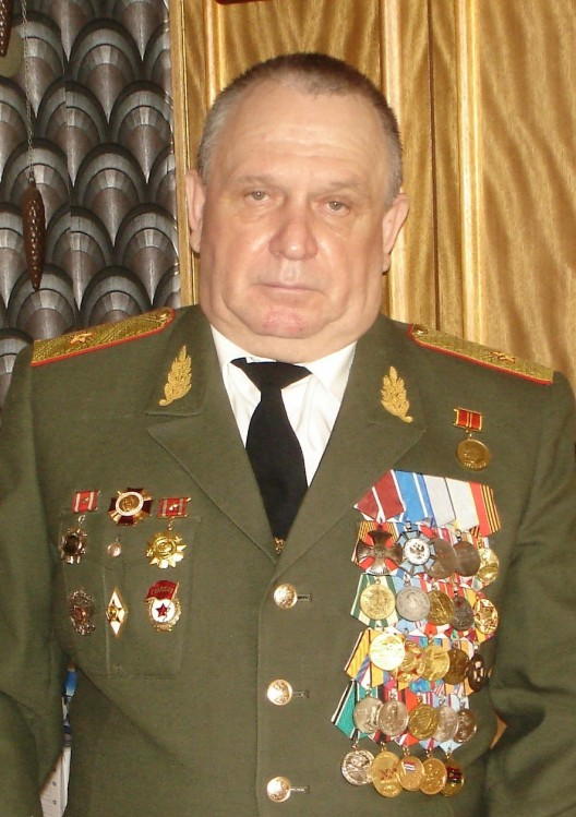 Главный ветеринарно-санитарный инспектор ВС РФ генерал-майор В.П.Ветровк