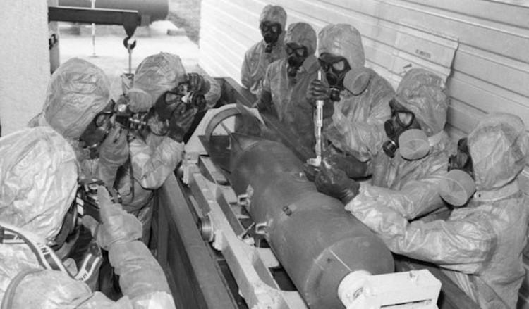 авиционная бомба с начинкой из спор сибирской язвы
