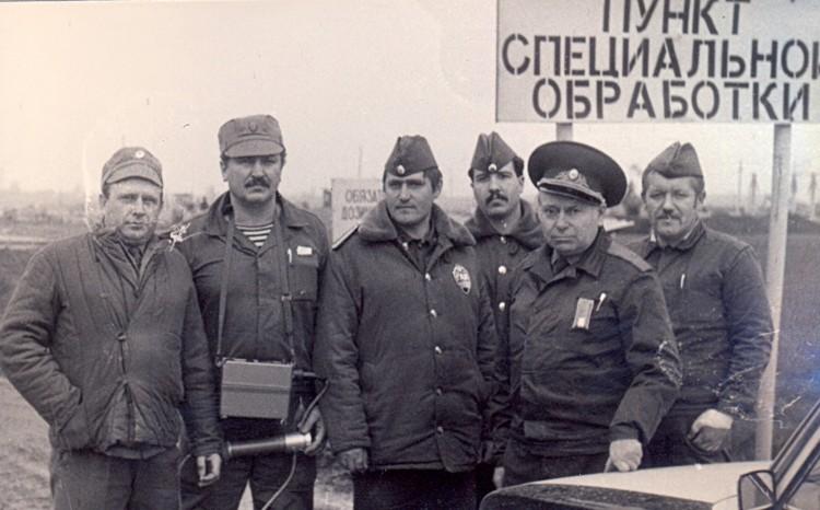 Чернобыльские будни, В.П.Ветров, А.Н.Трегуб, Е.Н.Панковец и другие