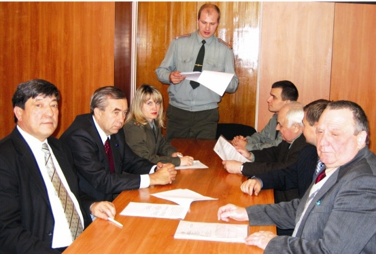 члены ученого совета на совещания в МО