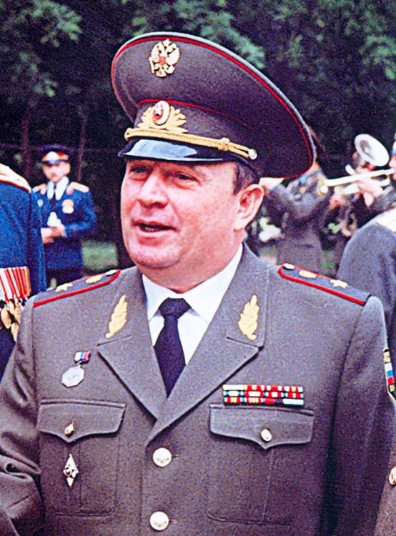 генерал-майор ветеринарной службы Виталий Петрович Ветров.