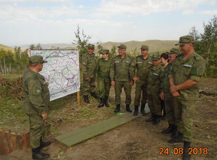 Военные ветеринары - участники учений