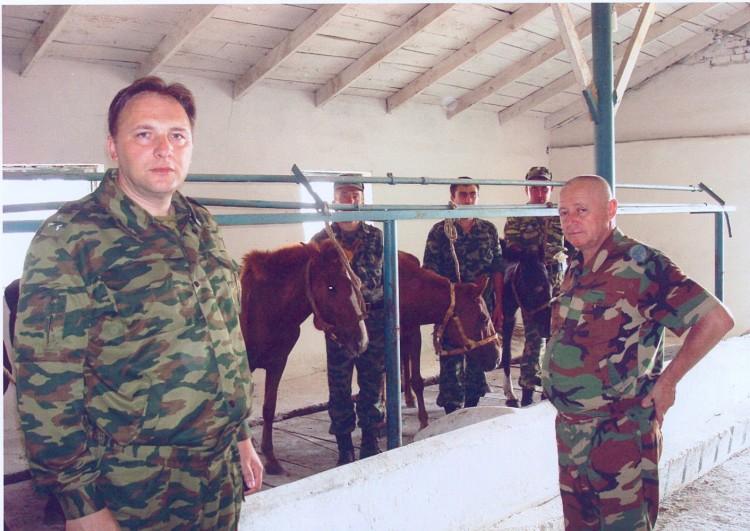 полковник Юрий Боев в Прохладном