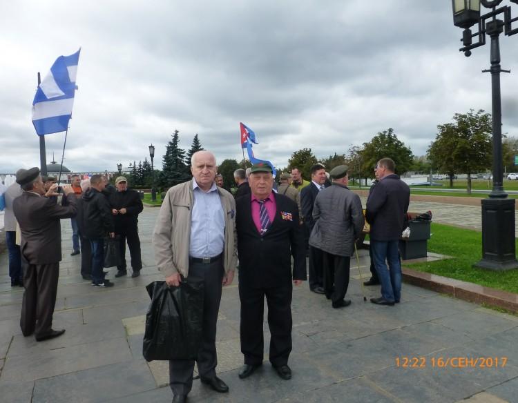 Встреча ветеранов ГСВСК на 55 летии образования  (Группа Советских военных специалистов в Республике Куба, ветеран ГСВСК генерал-майор В.П. Ветров справа