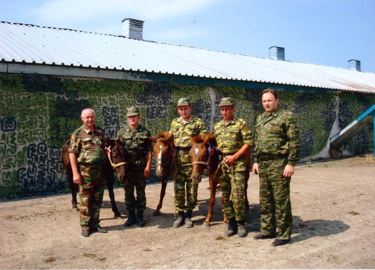 Руководство кавалерийским подразделением