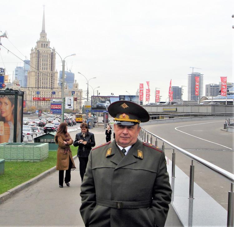 начальник ВСС ВС РФ генерал-майор ветеринарной службы Виталий Ветров
