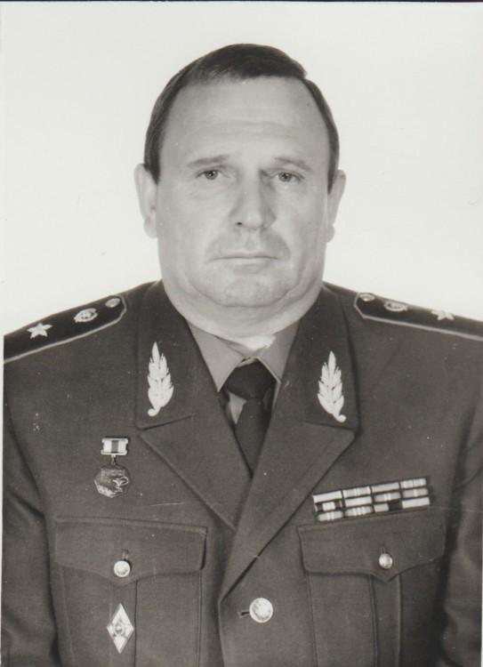 генерал-майор ветеринарной службы В.П.Ветров
