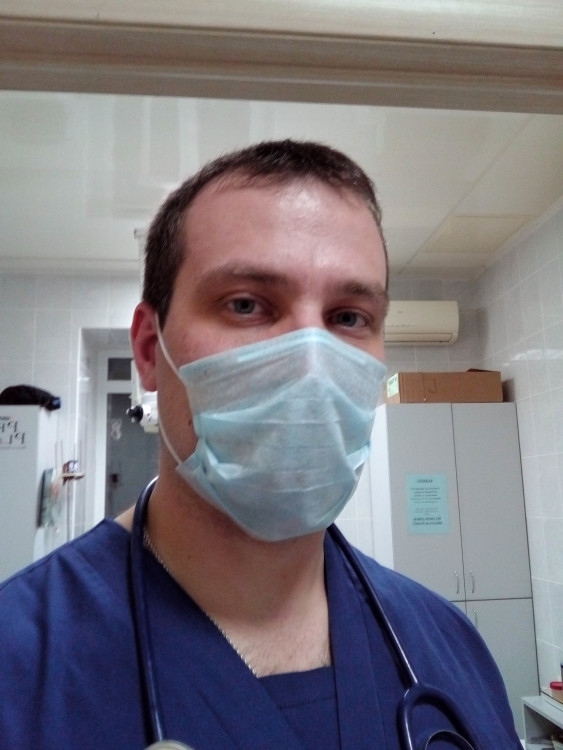 военный ветеринарный хирург-Павел Бабкин