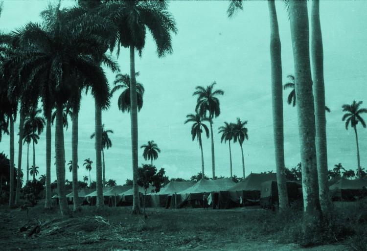 полевой лагерь пехотного батальона