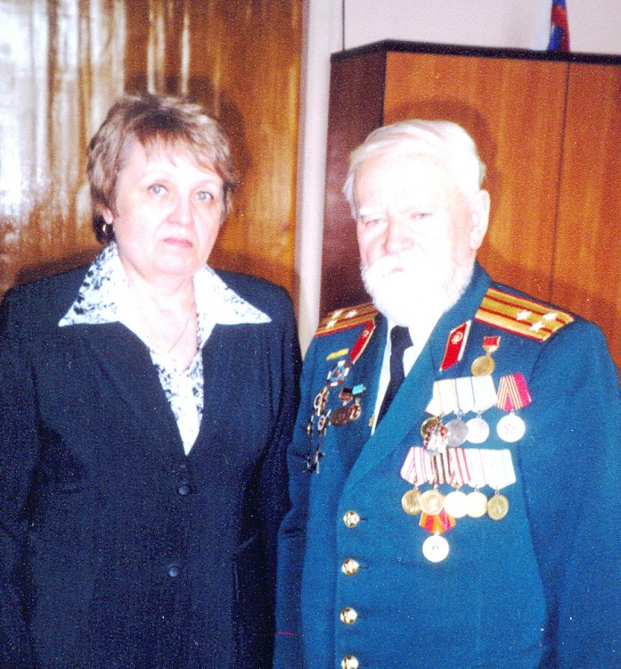 Ветрова Галина Владимировна и полковник Шуклин, Николай Федорович