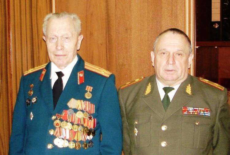 генерал-майор виталий петрович ветров и зам. начальника ввф анатолий алексеевич немиров 2006го