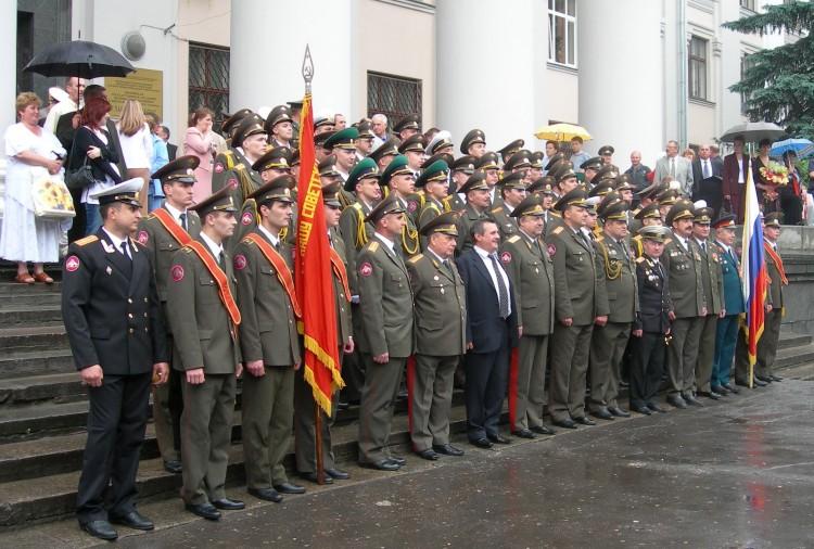 25 выпуск офицеров ВВИ 2006